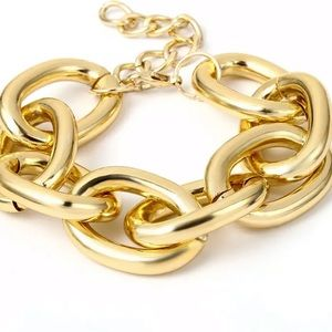 New beautiful Thick Gold  Chain Bracelet